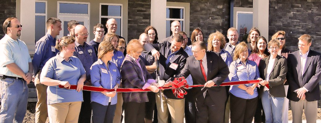 Grand Opening Of Celina Ohio's New Building